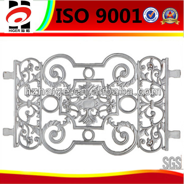 IGS drawing Custom made casting iron fence