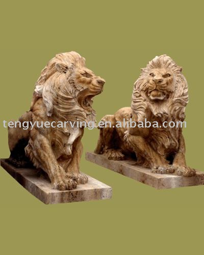 Europe Style outdoor lion statue
