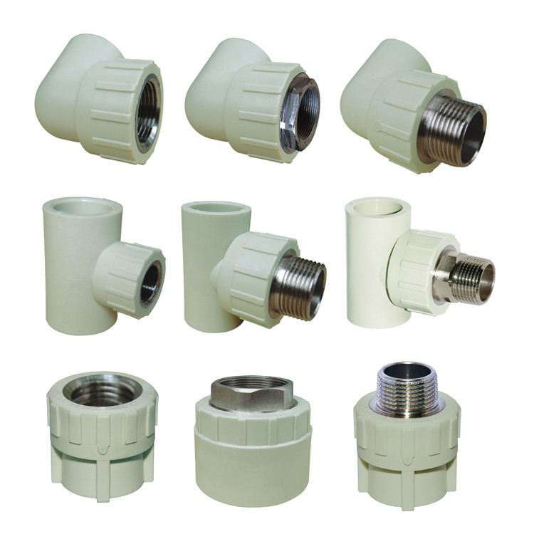 Water supply grey ppr fittings female thread socket