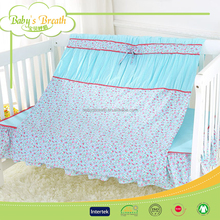 BBS790A home textile 100% cotton embroidery 7pcs baby comforter set