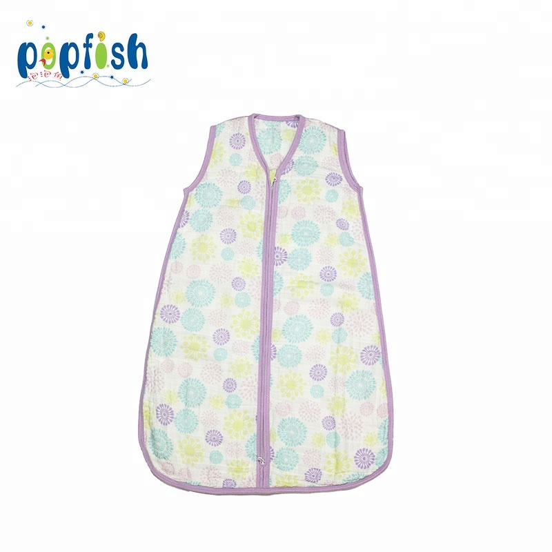 Lovely Skin Friendly Baby Muslin Sleeping Sack