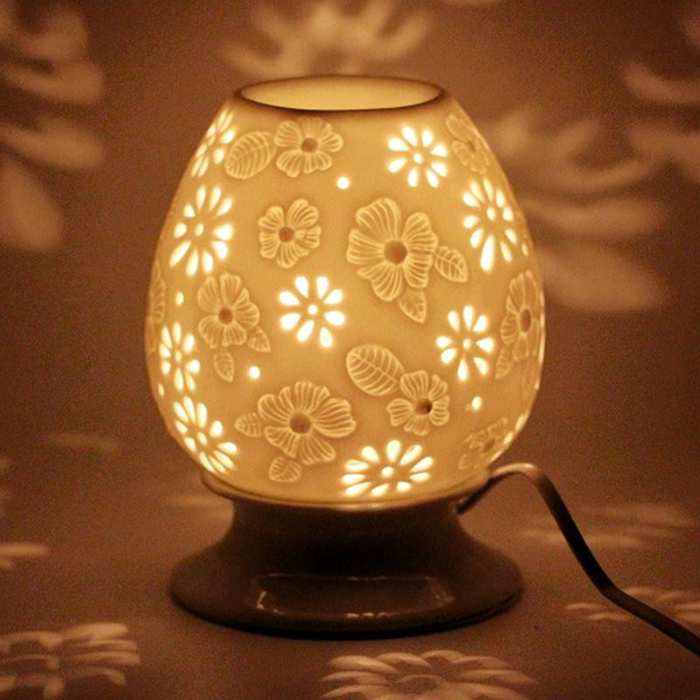 Aromacare Christmas Gifts Set Electric Oil Burner Decorative Lamps