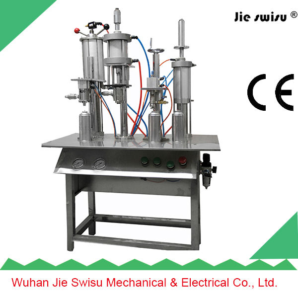 velvet spray paint filling machine with CE certification