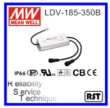 LDV-185-350B Multiple Channel Output Switching Mean Well 185W 350mA Power Supply