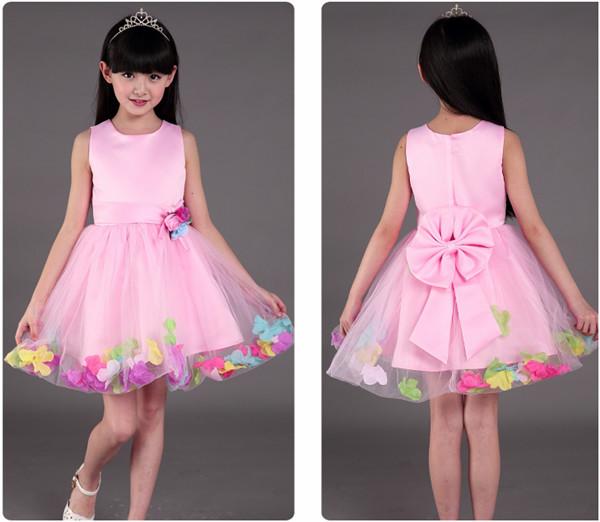 b83e643dd 2017hot New Latest Princess Wedding Dresses Medium Length Children ...