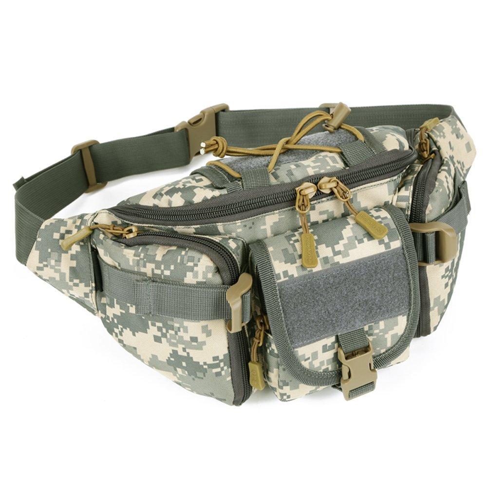 a72c02cf39e Get Quotations · X-Freedom Military Fanny pack Waist Bag Tactical Waist Pack  Portable Waist Pack Hip Belt