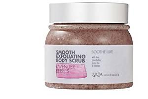 ULTA Luxe Smooth Exfoliating Body Scrub Lavender + Berries