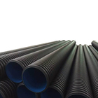 200mm-800mm PE HDPE double wall corrugated pipe for drain rainwater
