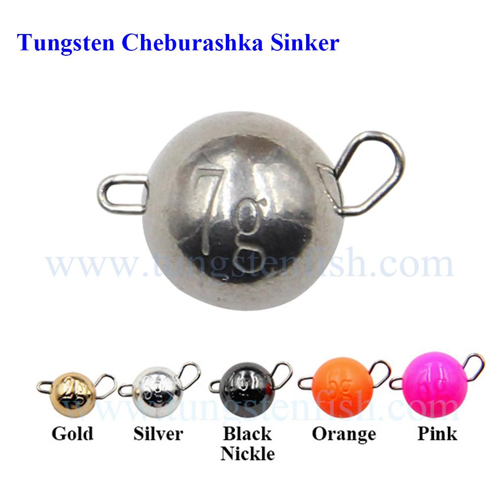 Namautaq Tungstène Cheburashka pesées non-toxique poids en 1.5 g à 30 g