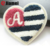 Garment accessories chenille embroidery polo patches