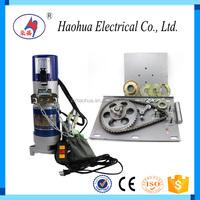 AC 600kg universal remote control rolling shutter motor / motor rolling door to Vietnam