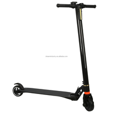 2017 new suspension design lightest 2 wheel electric carbon fiber scooter