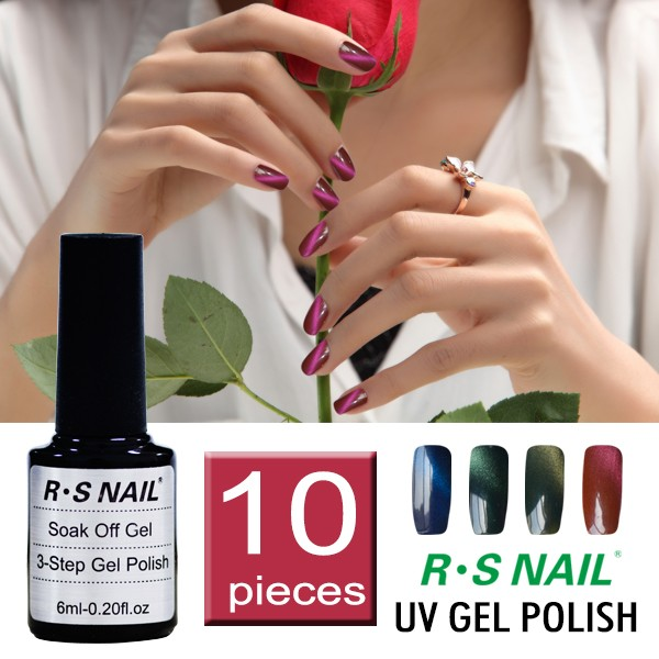 Ransheng New Nail Polish Design For 3 Step Gel Polish - Buy Nail ...