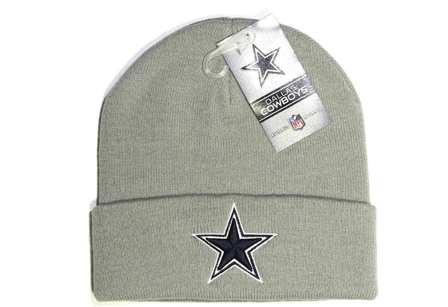 4cfc9533a4ce3 Get Quotations · Dallas Cowboys Basic Knit Hat