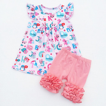2019 Summer Baby Girl Clothes Kids Clothes Children Boutique Clothing