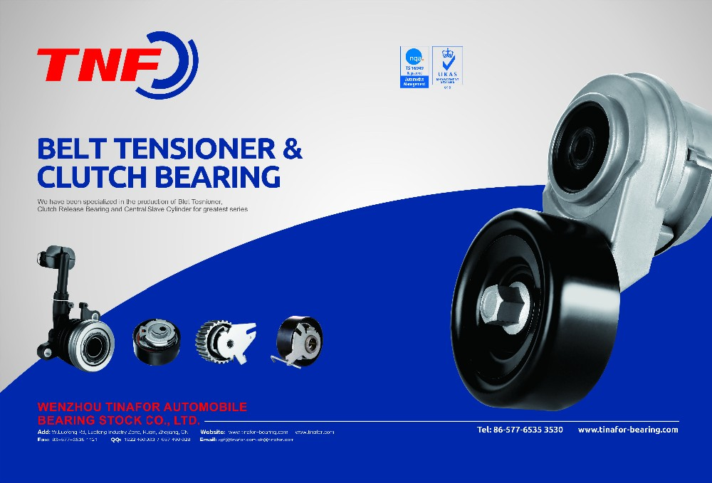 Sonata ii auto belt tensioner pulley bearing oe