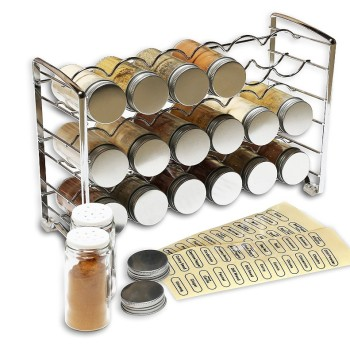Kitchen Spice Shelf Rack Kitchen Organizer Wall Mount Stainless