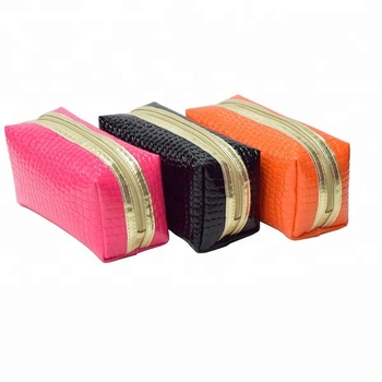 Small Cosmetic Bags Makeup Pouch Fashion Zipper Pouches Slim Pu Cosmetic  Pouch - Buy Pu Cosmetic Pouch 768994b9f8ddd