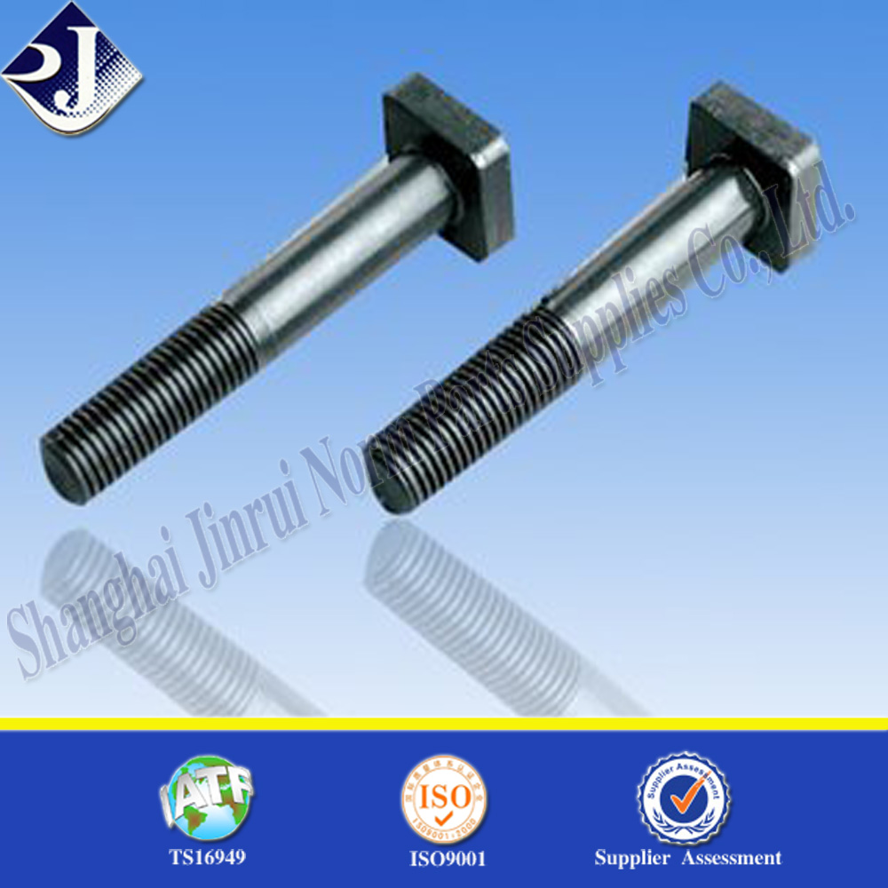 Popular prdocuct square head bolt Popular prdocuct square head bolt half thread square head bolt