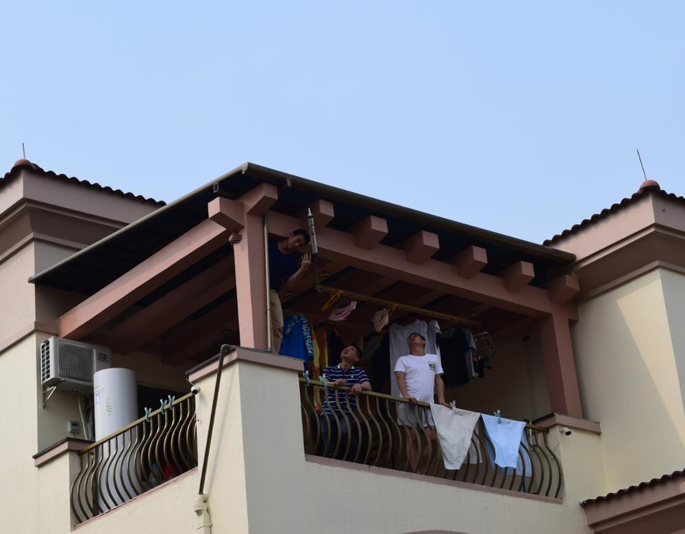 DIY Angepasst Größe Von Aluminium Balkon Baldachin