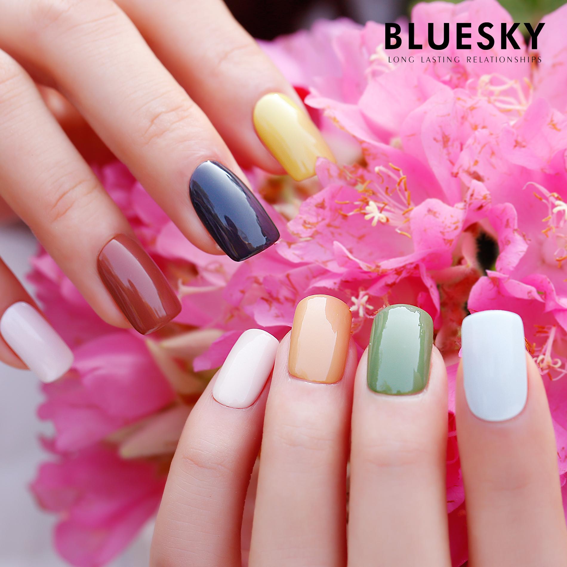 2018 Bluesky New Kit Gel UV polish Special Art Nail Polish SPRING ...