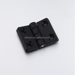 350.02-03-04 Strong nylon adjustable butt hinge for profile 30/40/45 plastic cabinet door hinge