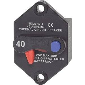 "Blue Sea Systems - Blue Sea Klixon Circuit Breaker Panel Mount 40 Amp ""Product Category: Electrical/Circuit Breakers"""