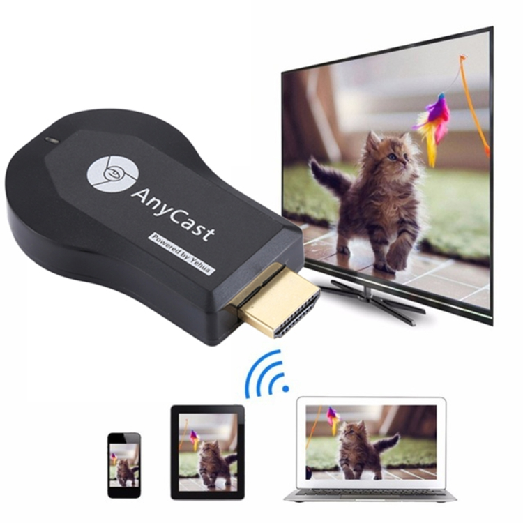 AnyCast M9 Plus Wireless WiFi Display <strong>Dongle</strong> Receiver Airplay Miracast DLNA 1080P <strong>TV</strong> <strong>Stick</strong> for iPhone and other Android phone