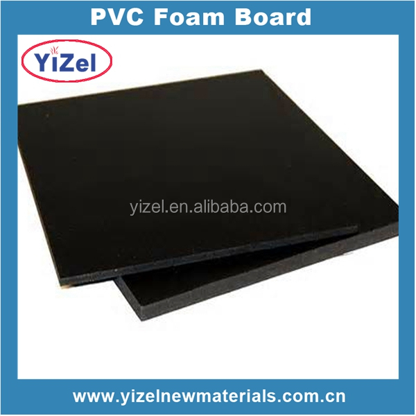 Best price Chinese factory PVC foam board black 4x8 plastic board