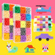 New fashion children kids education 3D DIY magic water Auto-stick beads toy gift