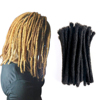 Best Selling 100% human hair India Africa Dreadlock Hair Extensions More Fashion Bundle Crochet Soft Dreads