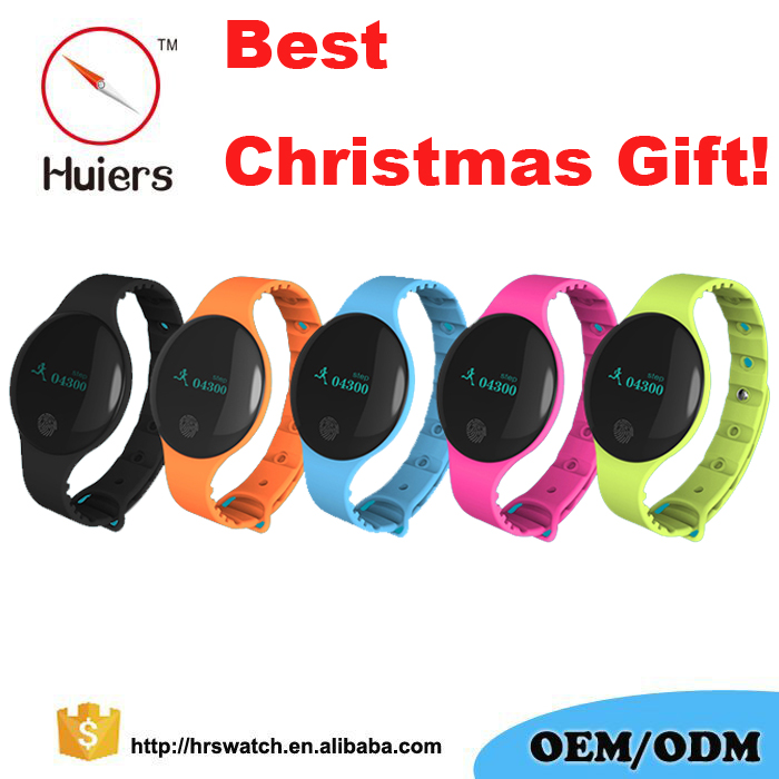 2017 Christmas Gift fitness tracker Smart Bracelet H8 Bluetooth OLED sportwatch clock digital For Apple and Samsung Smart Phone
