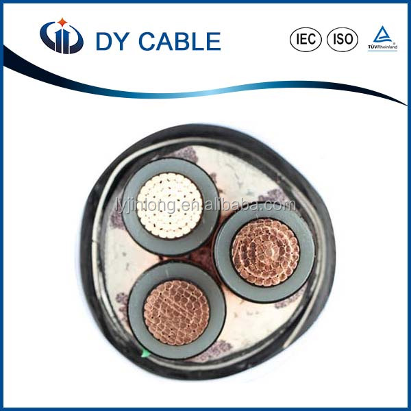 XLPE Insulated Low Smoke Zero Halogen Medium Voltage 11KV Power Cable