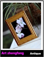 Classic natural wooden picture photo frame