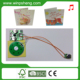 Press button pre-recorded sound module for greeting card