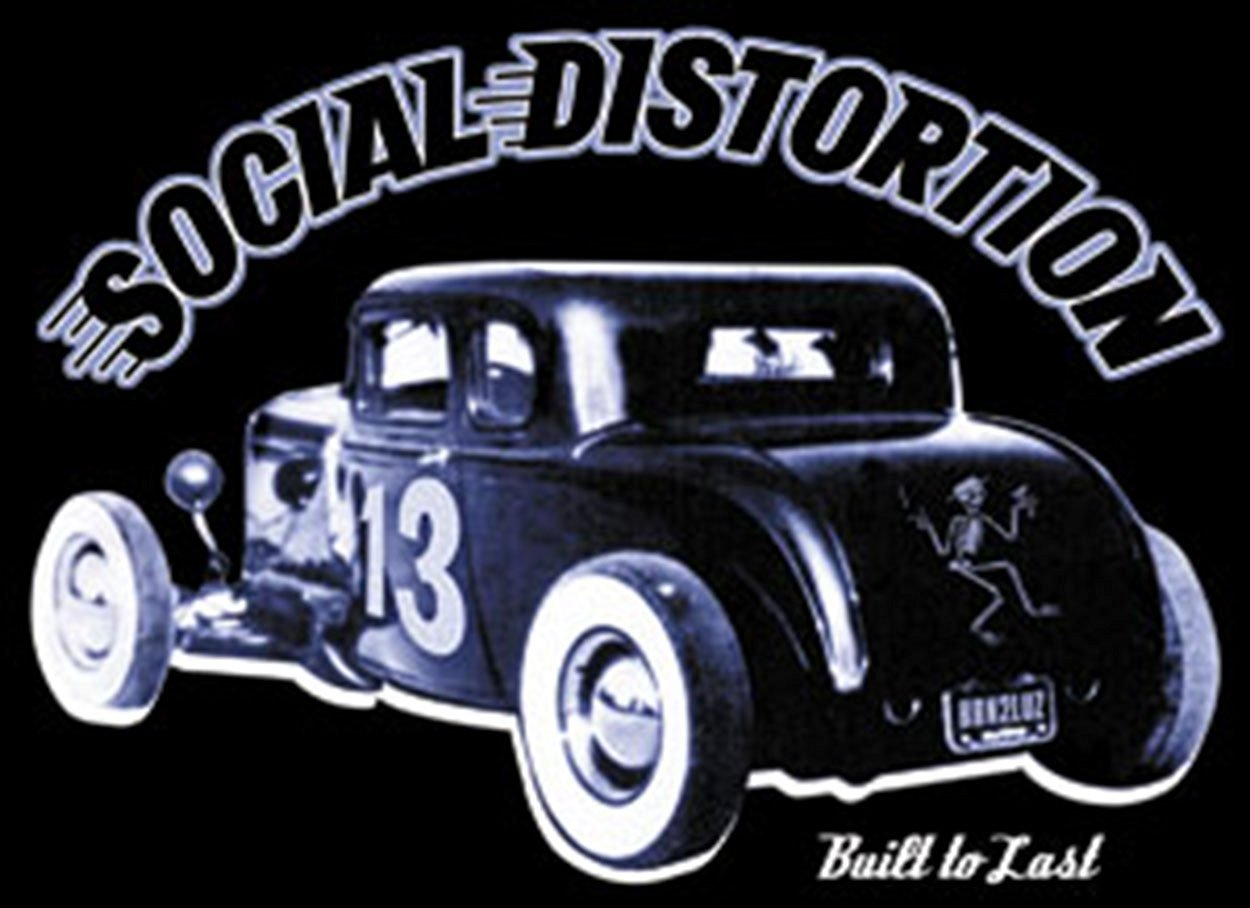 Buy Licenses Products Social Distortion Hot Rod Sticker in Cheap ...