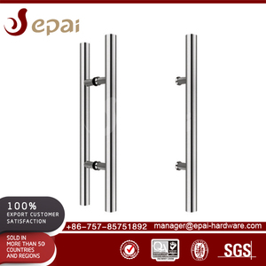 Professional Flush Pull Flat Handles Sliding Mirror Glass Door Handle