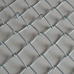 Farm Fence Application and Plain Weave Style chain link fence/wire fence with a flat iron design/2'' chain link fencing in kenya