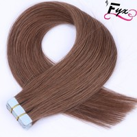 6# Tape in Human Hair Extensions new premium 9A Brazilian Virgin remy human hair Wholesale china supplier Straight