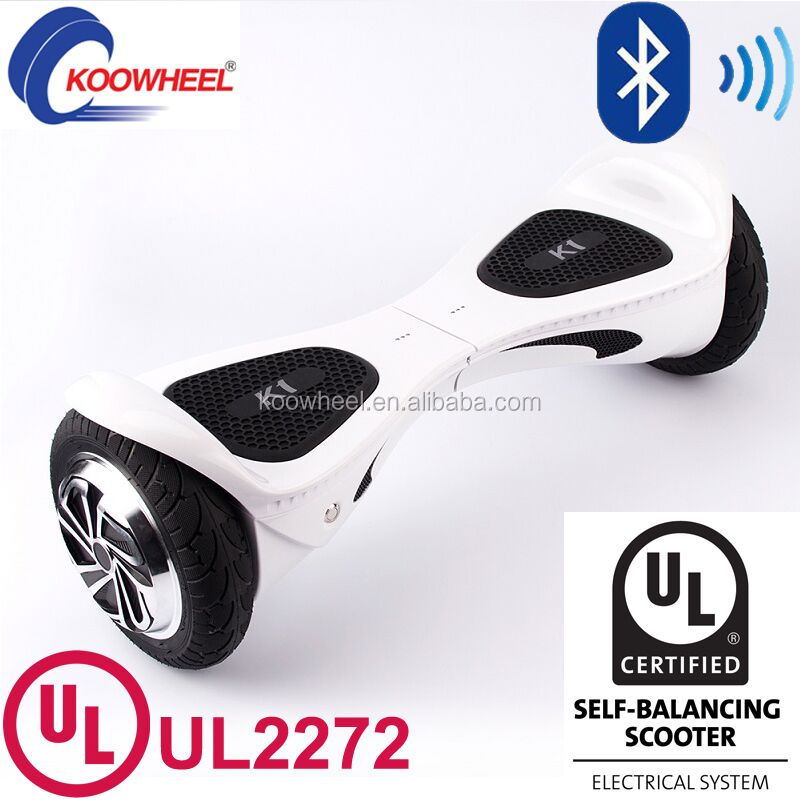 Two Wheel Electric Scooter Bluetooth Hoverboard Suppiler