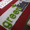 polished mirror steel free standing metal letters