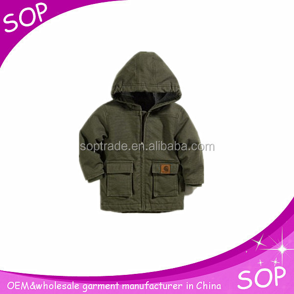 Clothes Store Child Coat Winter Thick Jackets Oxford Material Boys Outerwear