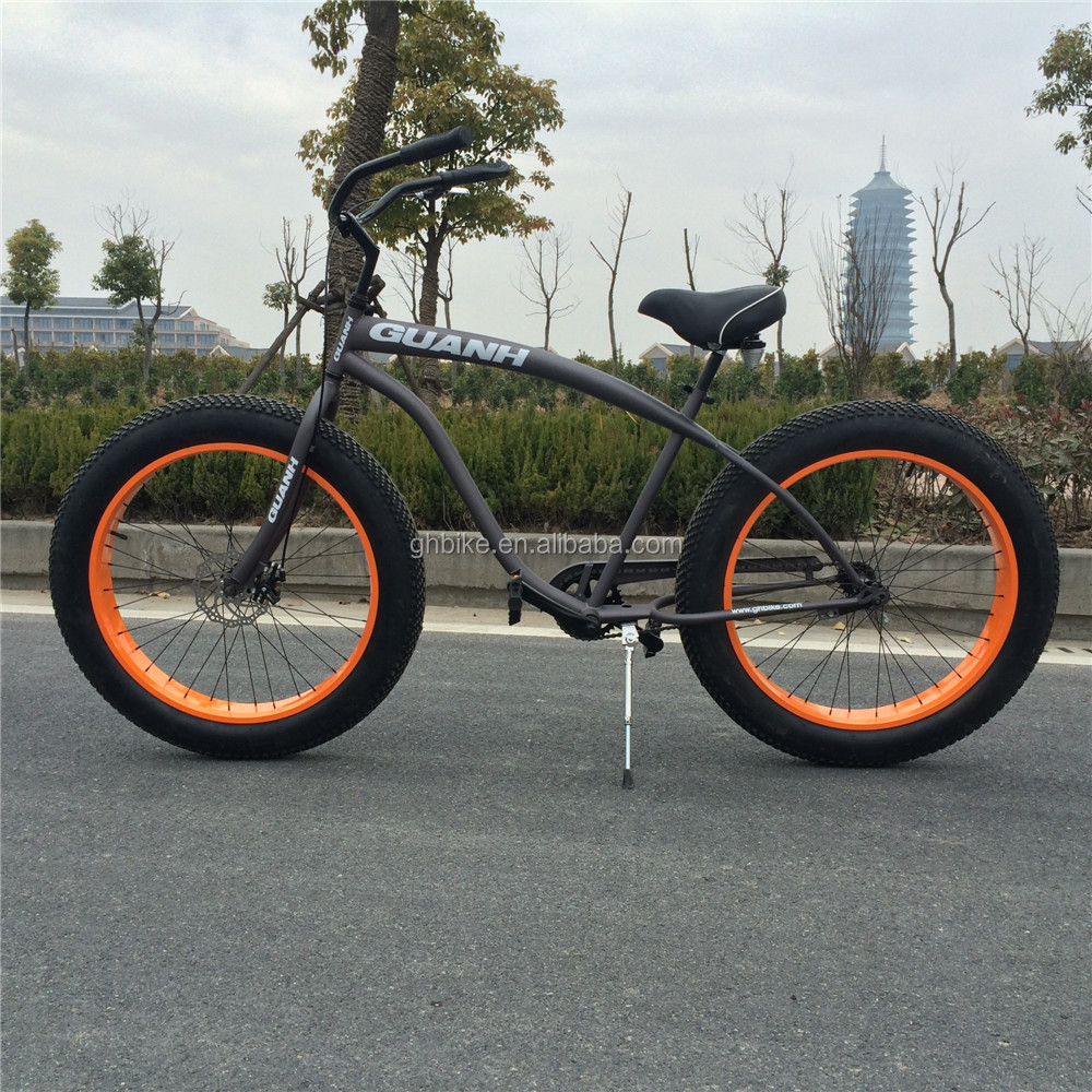 Cheap Brake Service >> Cheap Price Single Speed 26 4.0 Fat Tyre Beach Cruiser Bike For Men - Buy Fat Tyre Beach Cruiser ...