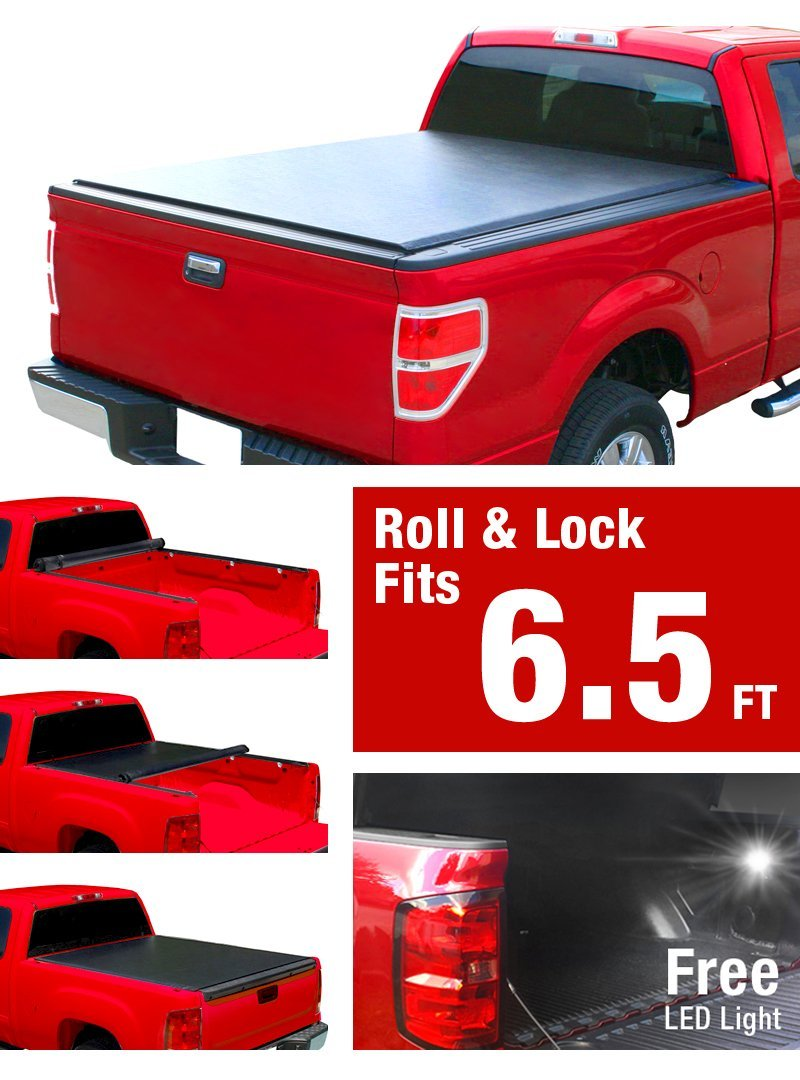 Get Quotations  C B Premium Low Profile Roll Up Truck Bed Tonneau Cover   Ford F