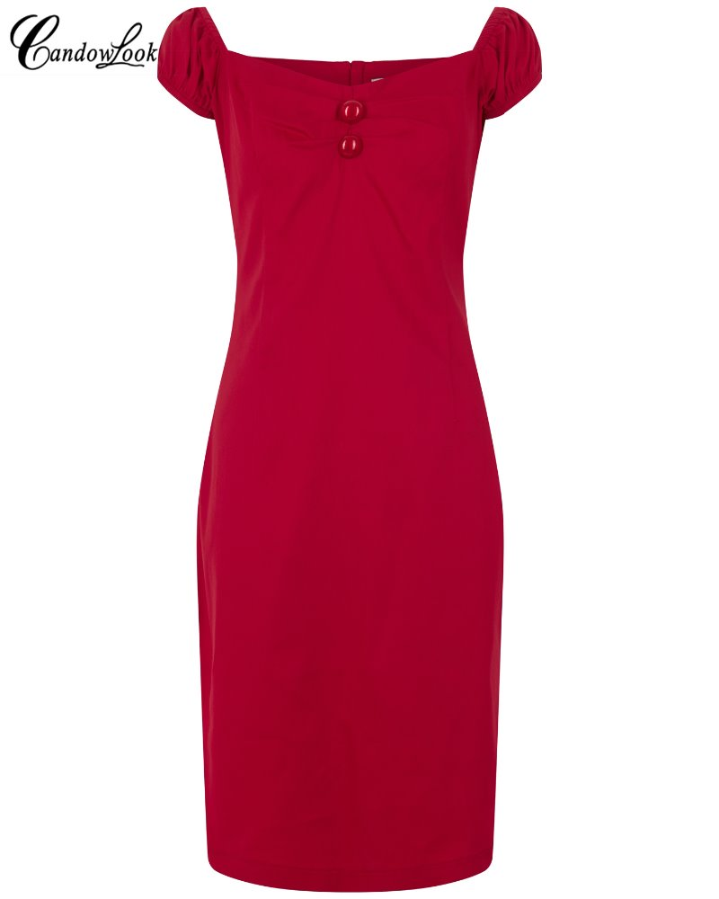 woman 2018 fashion latest designers style sexy pencil <strong>dress</strong> red
