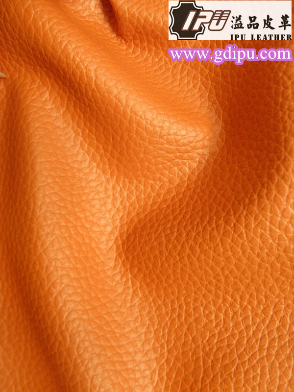2015 new good hand feel pu synthetic leather for furniture