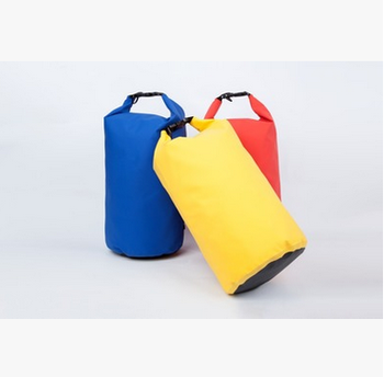 5L 10L 20L Durable outdoor 500D PVC waterproof dry bag for climbing , swimming