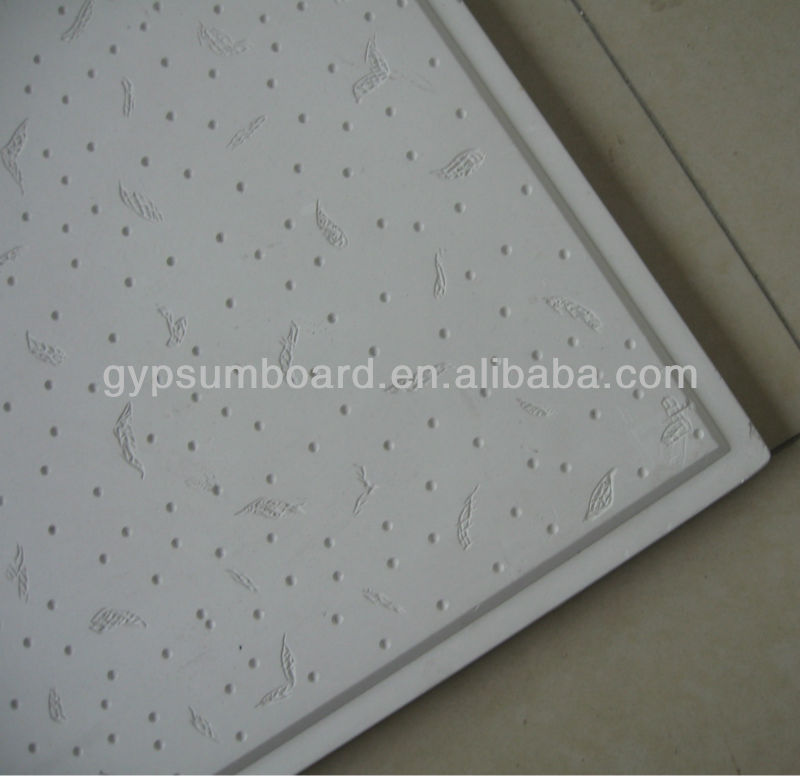 Relief Gypsum Ceiling Tile With Fiberglass Buy Relief Gypsum