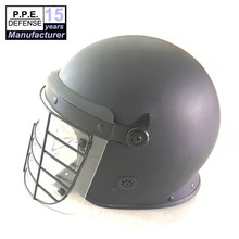 ABS material security protection police riot helmet with PC visor