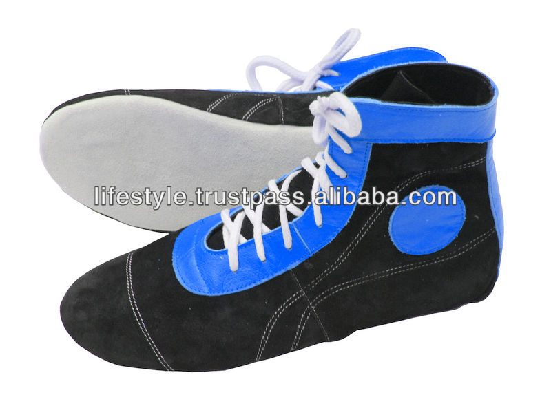 Leather Wrestling Shoes Pu Wrestling Shoes Wrestling Fighting Shoes Wrestling Sports Shoes Wrestling Boots Fighter Boxing Shoes